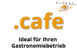 Domain .cafe - Domain, Hosting, Webseite, Internet