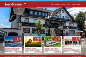 Webdesign Layoutbeispiel - Webdesign und Hosting by Planet-Online.biz