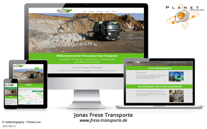 Website Frese Transporte