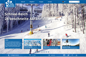 Webdesign Skiliftkarussell Winterberg - Layout, Webdesign und Hosting